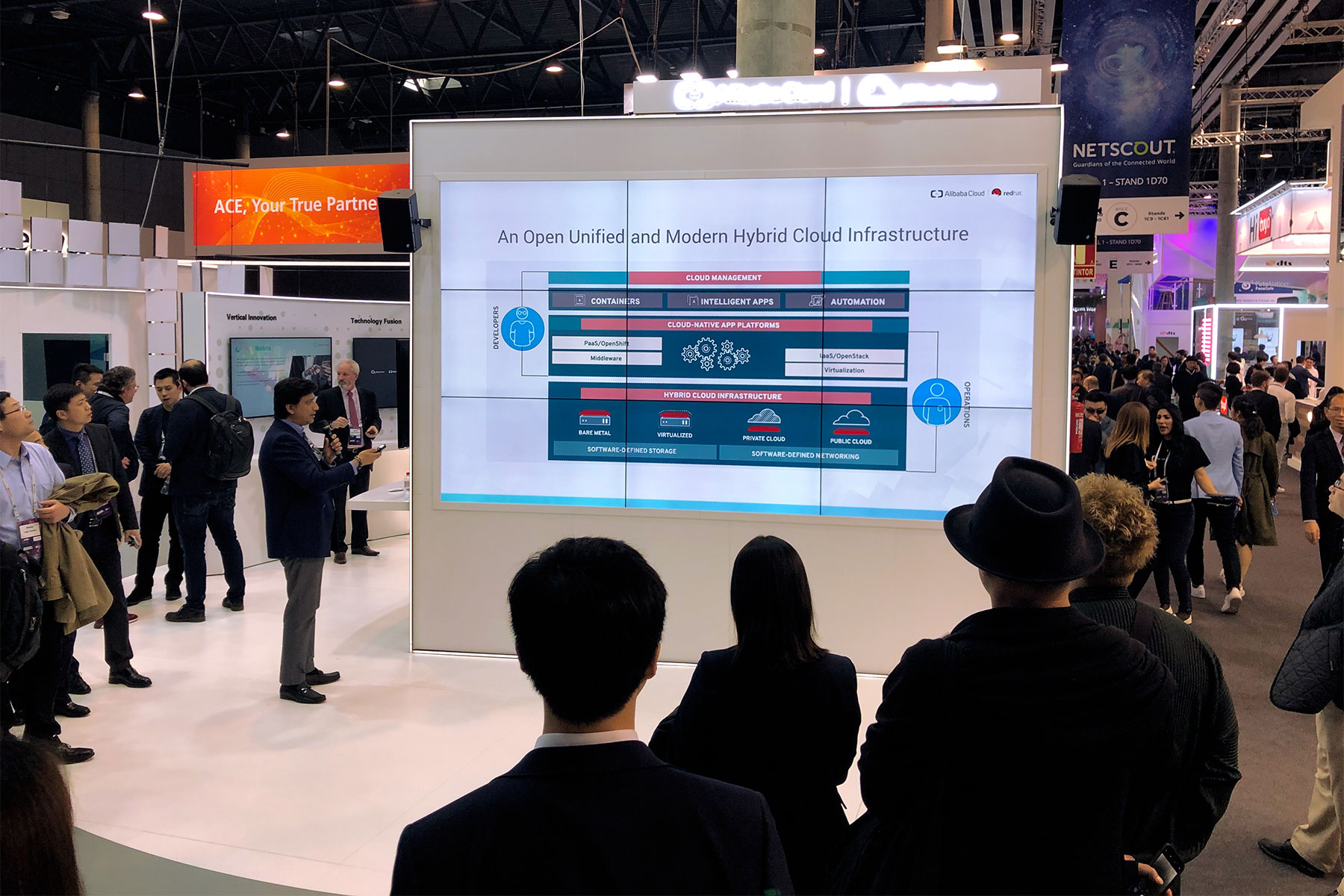 KEEP live Alibaba Cloud, MWC-Barcelona